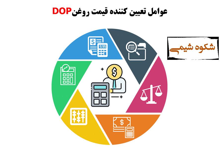 عوامل تعیین کننده در قیمت روغن DOP
